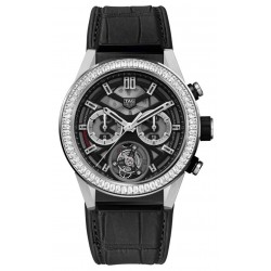 TAG HEUER CARRERAHeuer-02T Tourbillon Baguette-Cut Diamond ∅45 MM