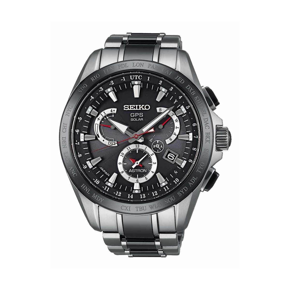 Astron GPS Solar Dual-Time 45mm