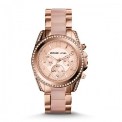 Blair Pavé Rose Gold-Tone