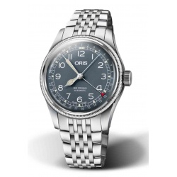 ORIS BIG CROWN POINTER DATE 50 M ∅40 mm, Esfera azul, brazalete de acero