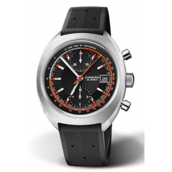 ORIS CHRONORIS LIMITED EDITION 100 M ∅40 mm, Esfera negra, caucho negro