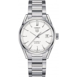 TAG Heuer Calibre 5 Automatic Watch 39 mm Silver Dial