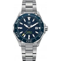 TAG Heuer AQUARACER Calibre 5 Reloj automático 300 M - ∅43 mm Bisel de cerámica, Esfera azul, Acero