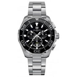 TAG Heuer Aquaracer Chronograph Esf Negra 43mm