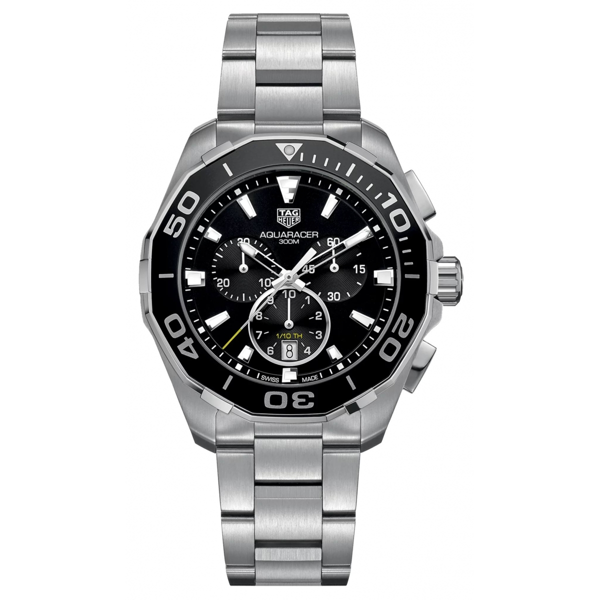 Aquaracer Chronograph Esf Negra 43mm