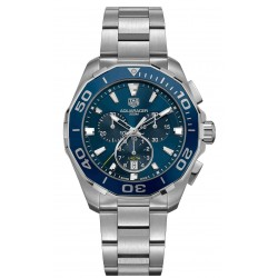 TAG Heuer Aquaracer Cronografo 300 M - ∅43 mm Esfera azul