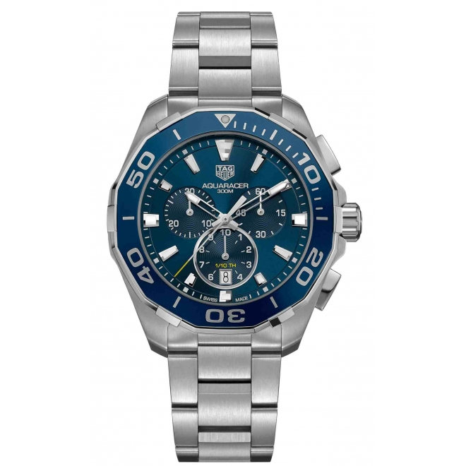 Aquaracer Cronografo 300 M - ∅43 mm Esfera azul