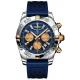 Chronomat 44 Esfera Azul Contadores Dorados
