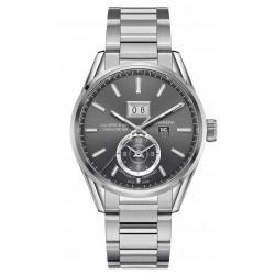 CARRERA Calibre 8 GMT Reloj automático 100 M - ∅41 mm Esfera gris, Acero