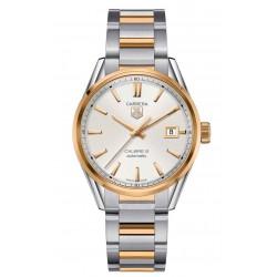 TAG Heuer CARRERA Calibre 5 Reloj automático 100 M - ∅39 mm Acero y Oro