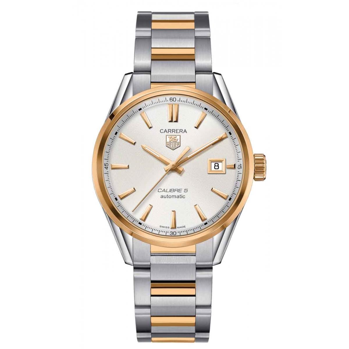 CARRERA Calibre 5 Reloj automático 100 M - ∅39 mm Acero y Oro