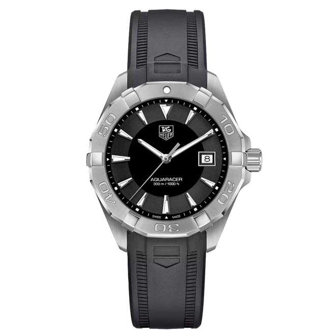 Aquaracer Quartz Caucho 40,5mm