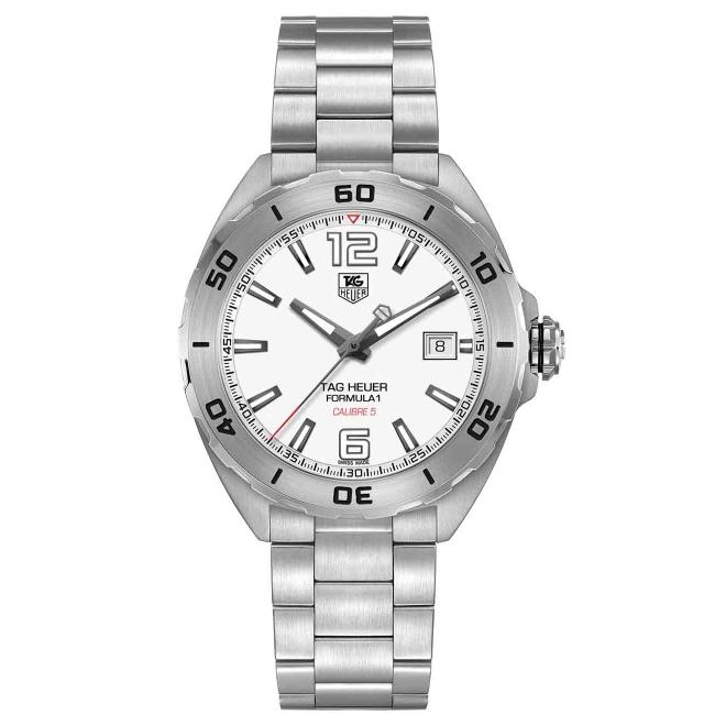 FORMULA 1 Calibre 5 Reloj automático 200 M - ∅41 mm, Esfera Blanca, Acero