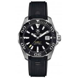 TAG Heuer AQUARACER Calibre 5 Reloj automático 300 M - ∅41 mm, Esfera negra, caucho