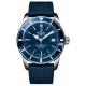 Breitling Superocean Héritage 42 - 200 M - ∅42 mm, Esfera azul, caucho azul