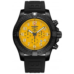 Breitling Hurricane 12h - 100 M - ∅50 mm, Esfera Cobra Yellow, Caucho