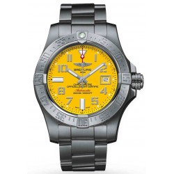 Breitling Avenger II Seawolf - 3000 M - ∅45 mm, Esfera Cobra Yellow, Acero