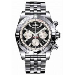 Breitling Chronomat 44 - 500 M - ∅44 mm, Esfera Negra, Acero