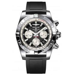 Breitling Chronomat 44 - 500 M - ∅44 mm, Esfera Negra, Caucho