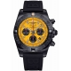 Breitling Chronomat 44 Blacksteel - 200 M - ∅44 mm, Esfera Amarilla, Caucho