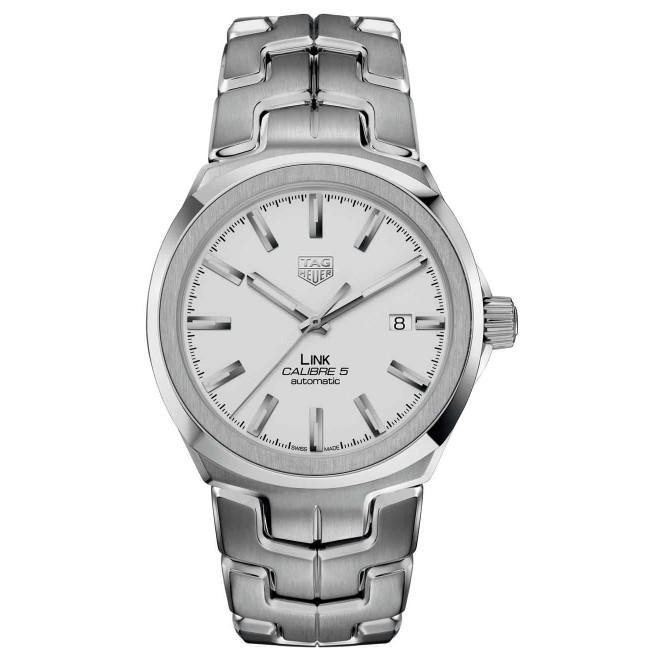 TAG HEUER LINK Calibre 5 Reloj automático 100 M - ∅41 mm, Acero